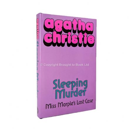 Sleeping Murder by Agatha Christie First Edition Collins 1976